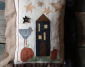 House on Pumpkin Hill Pillow