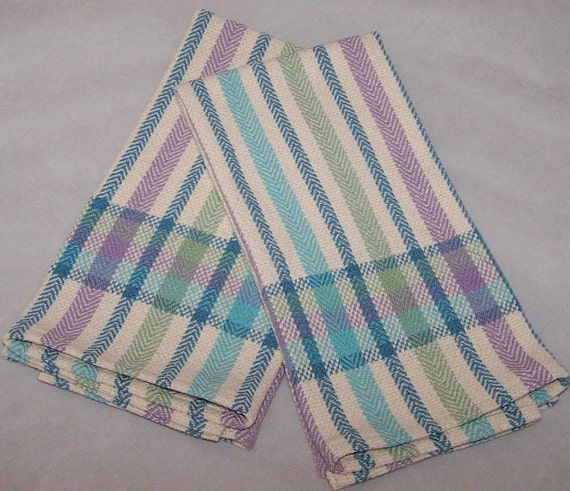 Handwoven Cotton Towel for Kitchen or Bath