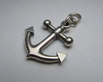 ANCHOR large sterling silver version