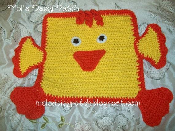 NEW CROCHET PATTERN BABY BLANKET DUCK Crochet