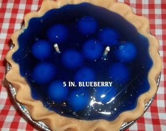 5 inch Blueberry Pie Candle