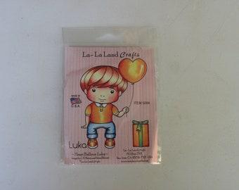 Heart Balloon Luka, La-La Land Crafts Stamp
