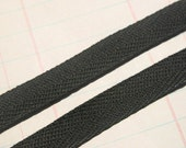 """Twill Tape Trim BLACK - 1/2"""" - Sewing Crafting Bunting Banners - 6 Yards"""