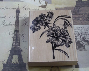 Awakening wood mounted Rubber Stamp from Penny Black