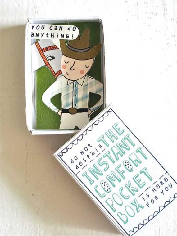 Instant Comfort Pocket Box - cowboy