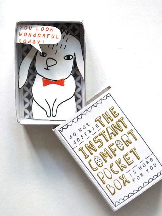 The Instant Comfort Pocket Box  - Bunny rabbit