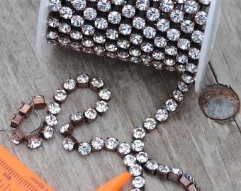 Copper Rhinestone Chain Kit