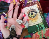 Hippie Festival Spirit  Prayer Flags ,The Tinker Man Bells