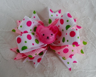 Dog Bow- Dottie Bear Boutique Dog Bow