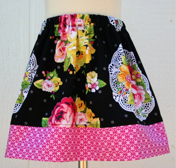SKIRT SALE - Summer Soiree Skirt - Last One Size 3/4