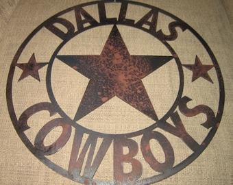 Dallas Cowboys-Metal Art Sign