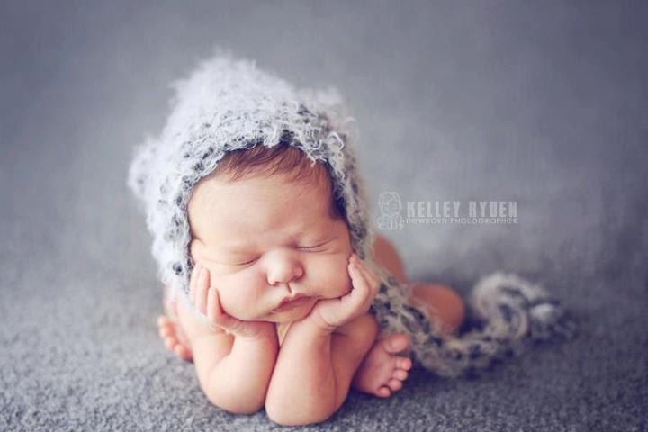 Knitting For Newborn Photography : Baby hat newborn photography prop knit