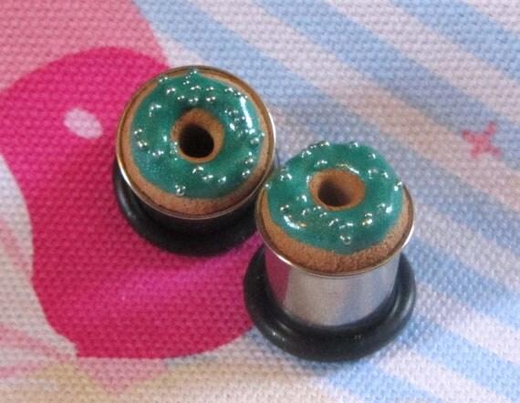 00g Donut Eyelets - Metallic Aqua Pearl