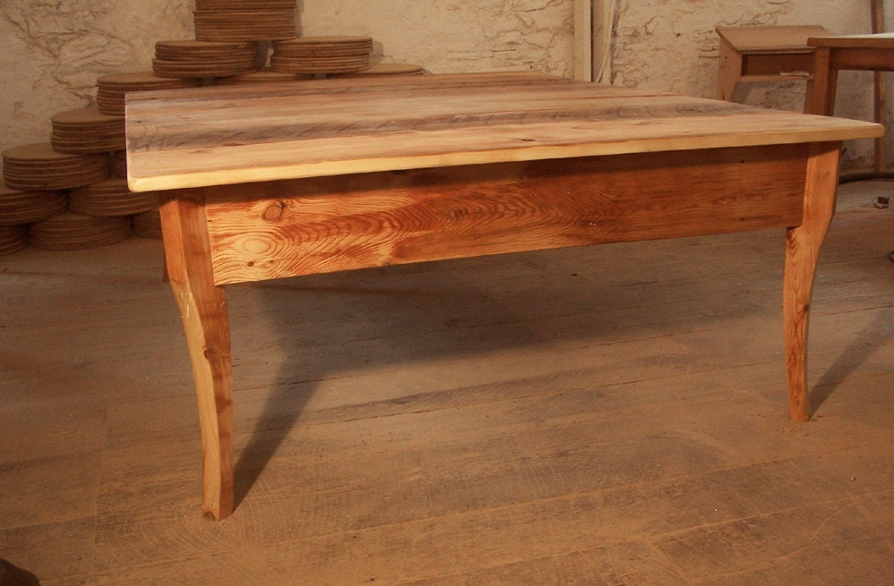 Raised Platform Bed : Raised Platform Bed From Reclaimed Antique by BarnWoodFurniture
