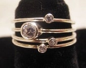 Stack Ring Quartet (silver)