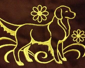 Golden Retriever Labrador Retriever  Embroidered Apron