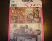 Simplicity vintage crafts pattern