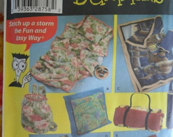 Simplicity Pattern 4745 - Never Used - Sewing for Dummies