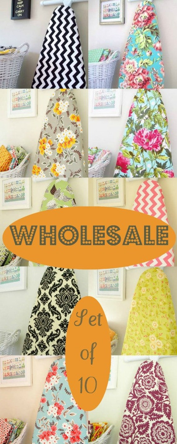 Ironing Board Covers Set of 10 - WHOLESALE