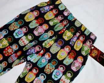 New Matryoshka Doll Toddler Pants size 2t-5t