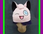Pokemon Jigglypuff Fleece Earflap Beanie