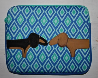 Dachshund Tablet iPad Case cover 10.5 by 8.5  inches SALE