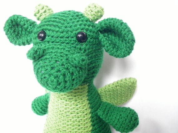 Amigurumi PATTERN: Dragon pdf by FreshStitches on Etsy