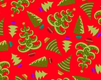 Christmas Fabric Holiday Cheer 1/2 Yard by Studio 8