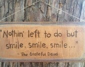Woodburn quote sign