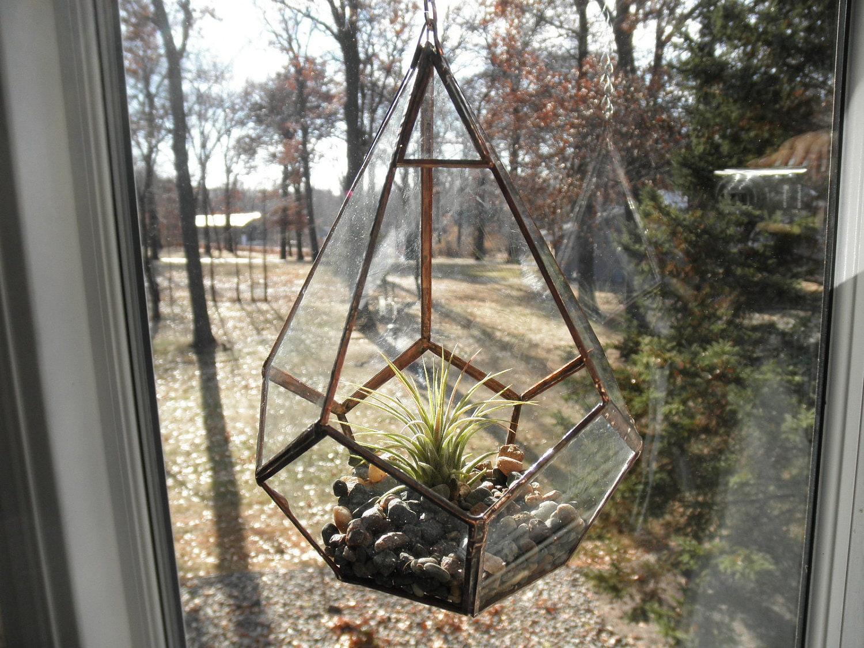hanging glass terrarium. Black Bedroom Furniture Sets. Home Design Ideas