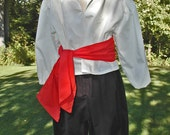 Pirate Costume for Youth with Shirt, Sash, Britches