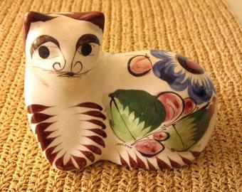 Tonala Cat Figurine