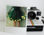 Green Party... 5x3.75 inches Polaroid Style print