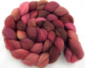 Organic merino, hand dyed, 'Million Bells', 4 oz. - HamptonArtisticYarns