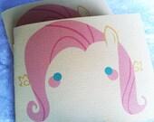 Blushing Fluttershy Pocket Notebook // My Little Pony