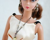 Charming Long Necklace and Earring Set