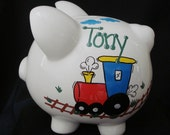 Large Personalized Train Bank