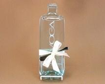 Pinot Grigio Flattened Wine Bottle Cheese Board Voga Italian Wine by Mitchell Glassworks