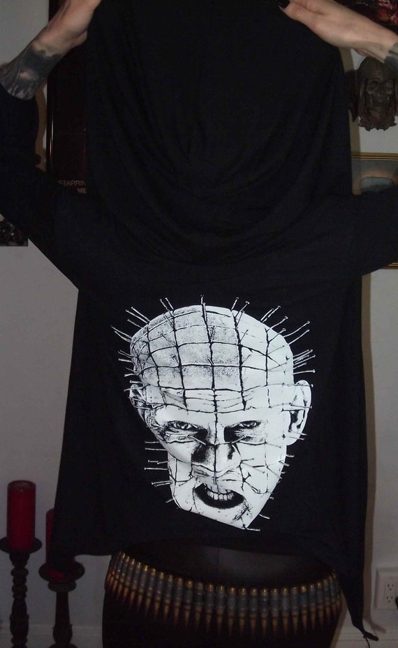 Hellraiser Girls Pinhead Hooded Horror Cardigan