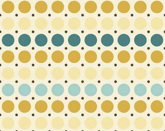 So Sophie Blue Dots fabric by Riley Blake