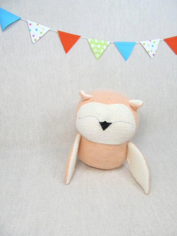 Owl, Handmade, Stuffed Animal, Toy, Children, Plush