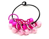 Pretty in Pink Snagless Stitch Markers