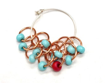 Copper Canyon Snagless Stitch Markers