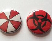 Resident Evil Pin Set
