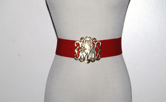 Vintage Belt Rockin Red