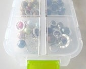 Snap 'n Go Notions Case - Jumbo - On-The-Go Storage Accessory for Knitters and Crocheters - Lime Green