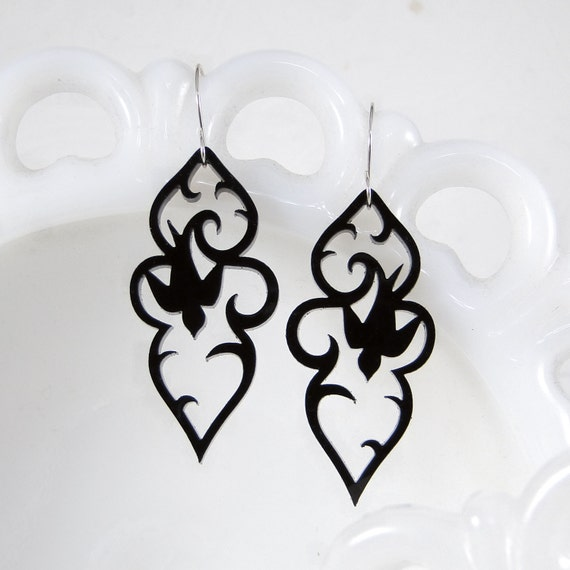 Swooping Swallow Bird Earrings