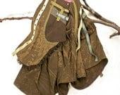 Skirt wraparound handmade Fashion equestrian victorian modern Featured in Belle Armoire magazine winter 2013 edition