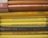 Vintage Pencil Collection, Assorted Vintage Unused Pencils and Boxes, Back to School Supplies
