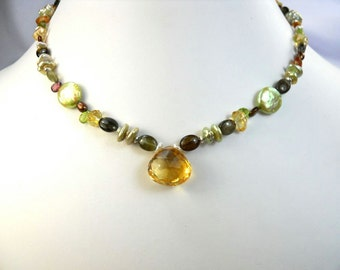 Shades of the Forest Necklace